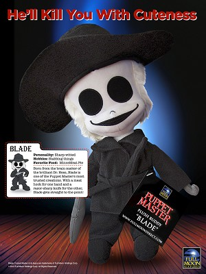 Plush Buddy Blade (Flat Domestic shipping included)
