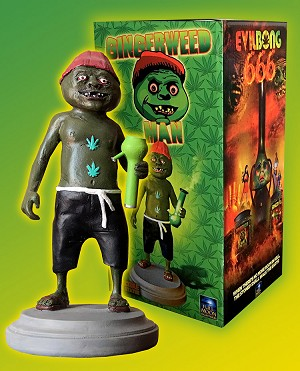 Gingerweed Man Resin Statue (Includes a FREE Evil Bong 666 Blu-ray!)