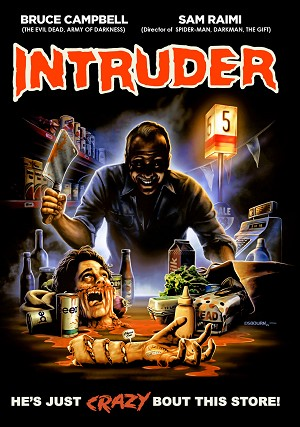 Intruder Variant DVD, signed by Charles Band