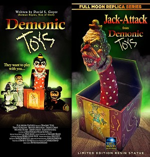 Jack Attack Resin Statue (INCLUDES Free Demonic Toys Blu-ray)