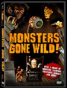 MONSTERS GONE WILD! (DVD)