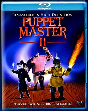 Puppet Master II: They're Back. No Strings Attached Blu-Ray