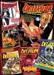 Delirium Magazine Issues #1 thru #6 (INTERNATIONAL ONLY)