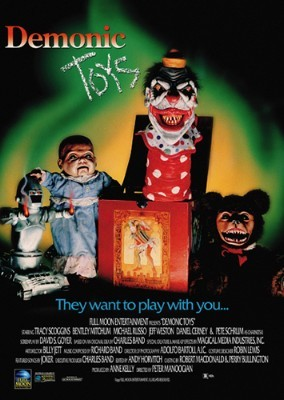 DEMONIC TOYS MOVIE POSTER