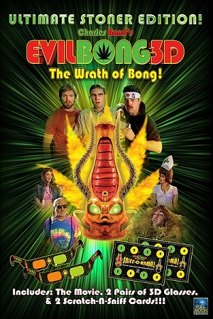 Evil Bong 3: The Wrath of Bong! 3D Version! (Ultimate Stoner Edition!) DVD