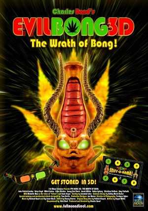 Theatrical Poster, Evil Bong 3-D: The Wrath of Bong