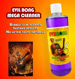 Evil Bong Mega Cleaner 16oz