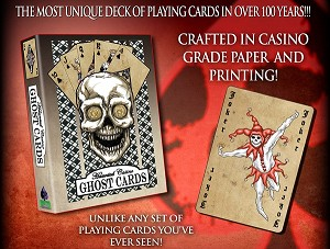 Haunted Casinos, Ghost Cards (52 Card Poker Deck, plus Jokers)