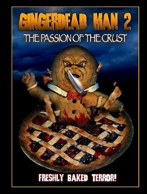 Gingerdead Man 2- The Passion of the Crust (Pie Cover) DVD