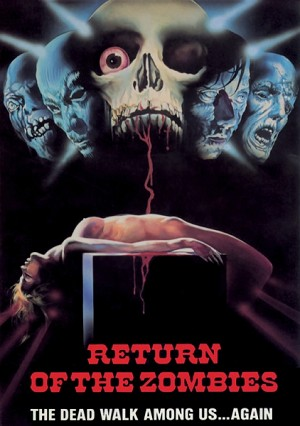 Wizard Video: Return of the Zombies (Big Box VHS)