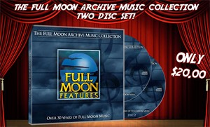 Full Moon Archive Music Collection Soundtrack CD Set