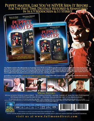 Puppet Master 1 DVD Remastered