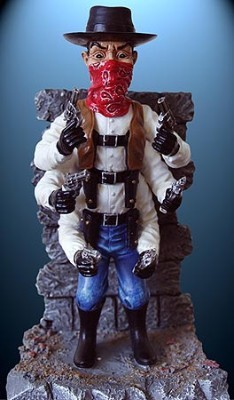 Six Shooter LIMITED EDITION Resin Statue