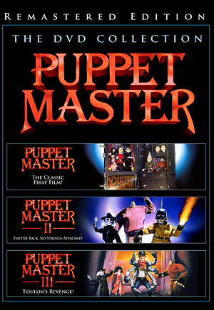 Puppet Master 1-3 Remastered DVD Slimline Set