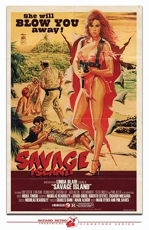 Wizard Video: Savage Island (Big Box VHS)
