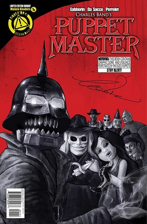 SIGNED Puppet Master Comic Issue 1 (Variant Vasilis Zikos cover)