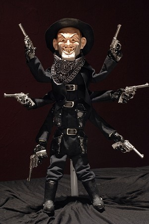 Puppet Master 1:1 Scale Variant Replicas: Stealth Six Shooter