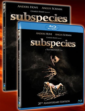 SUBSPECIES DVD Remastered