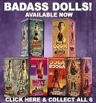 All 6 Badass Dolls! Resin Statue, Buy All 6 and Save