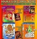 Collectable Cereal Box COMBO DEAL!