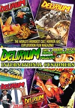 Delirium Magazine 1 Year Subscription: Issues #13-#18 (INTERNATIONAL ONLY)