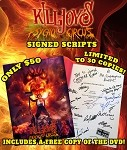Killjoy's Psycho Circus Signed Script, Includes Free DVD, Limited to 30