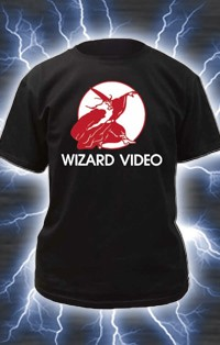 Wizard Video Logo T-Shirt (Unisex sizes, Men or Women)