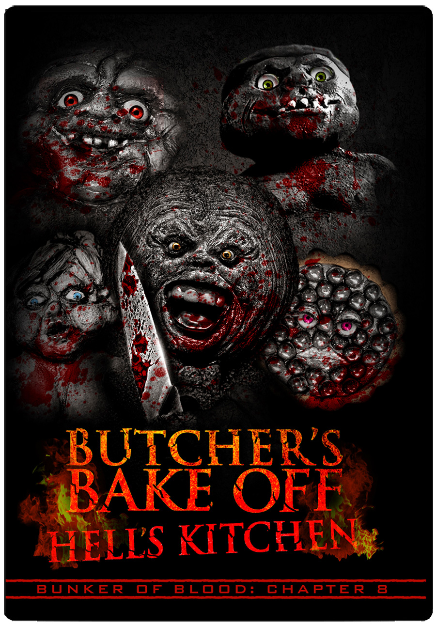 Bunker of Blood 08: Butcher's Bakeoff Hell's Kitchen DVD