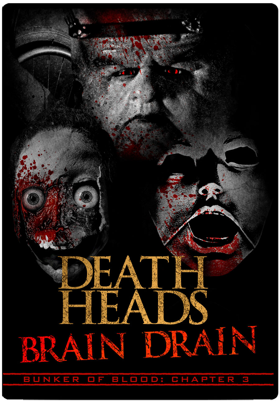 Bunker of Blood 03: Death Heads Brain Drain DVD