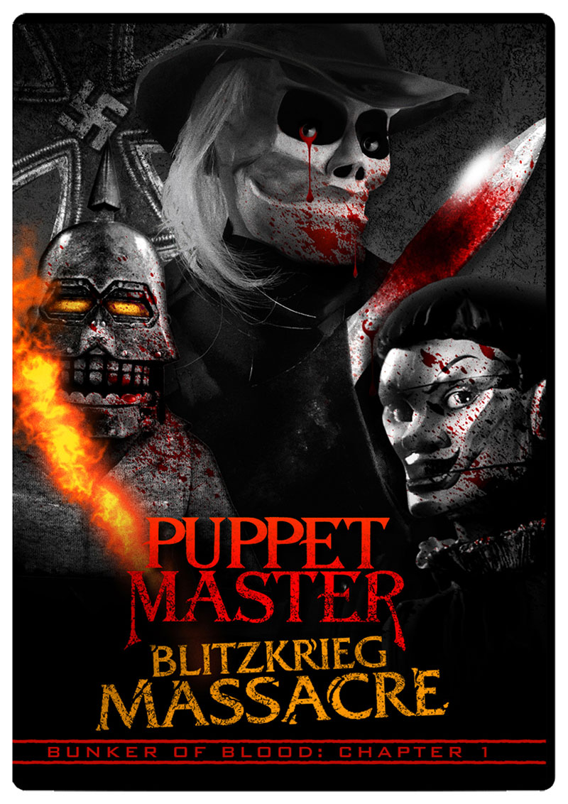 Bunker of Blood 01: Puppet Master Blitzkrieg Massacre DVD