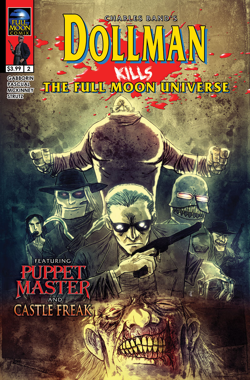 Dollman Kills The Full Moon Universe #2 (Ben Templesmith cover)