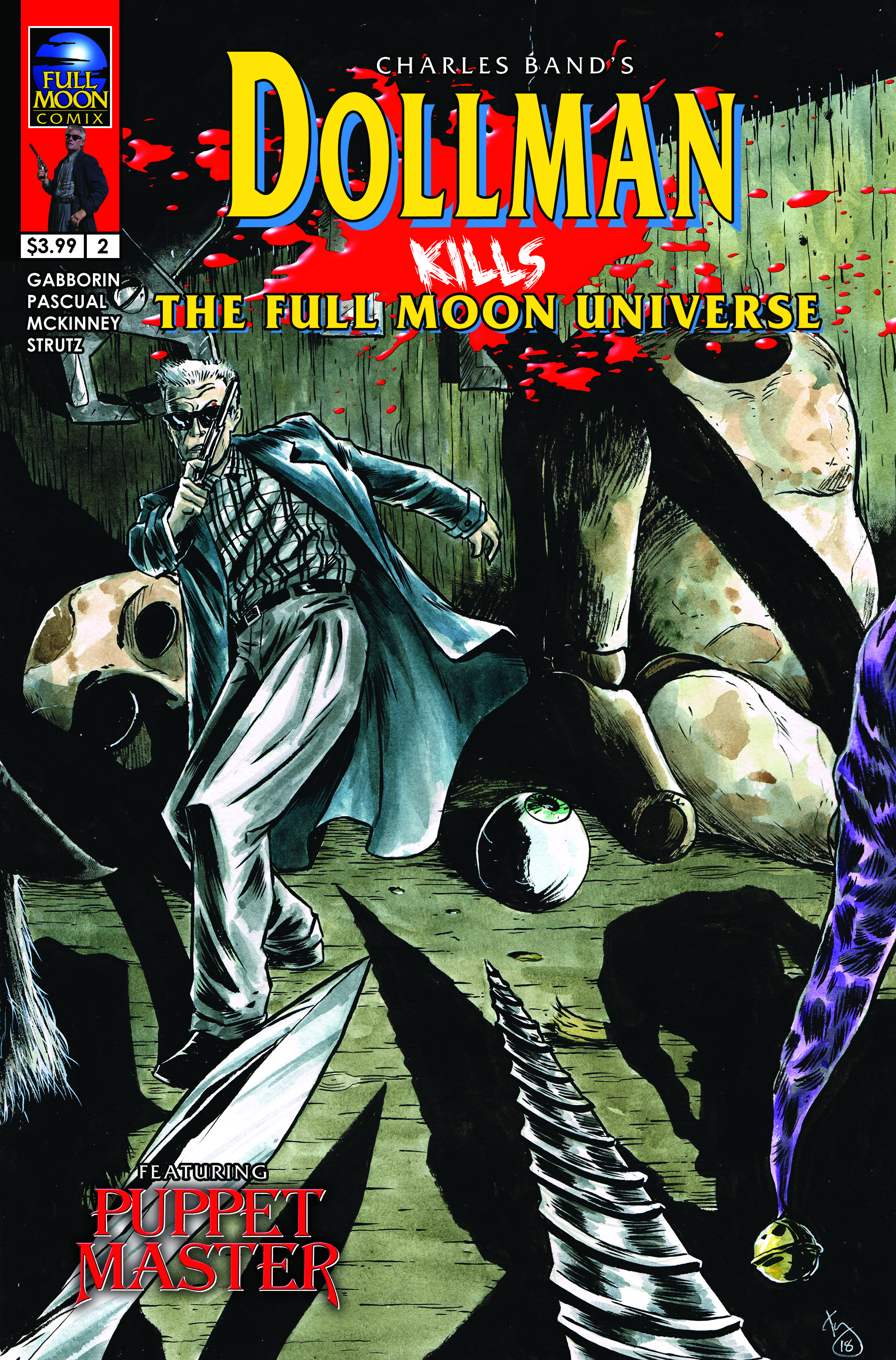 Dollman Kills The Full Moon Universe #2 (Kelly Williams cover)