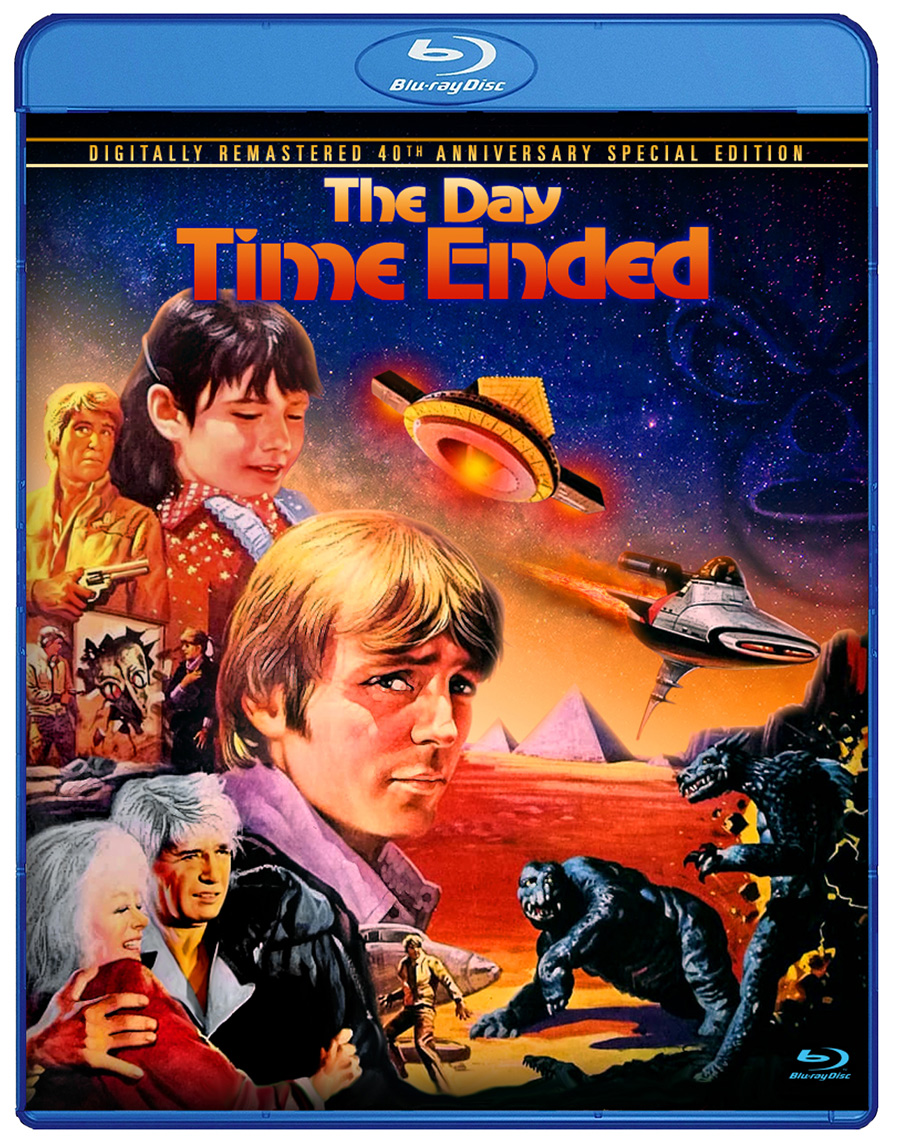 The Day Time Ended Blu-ray [Remastered]