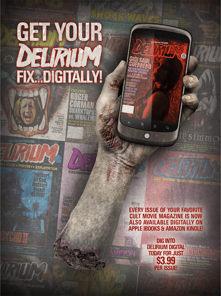 Delirium Digital on iTunes and Kindle