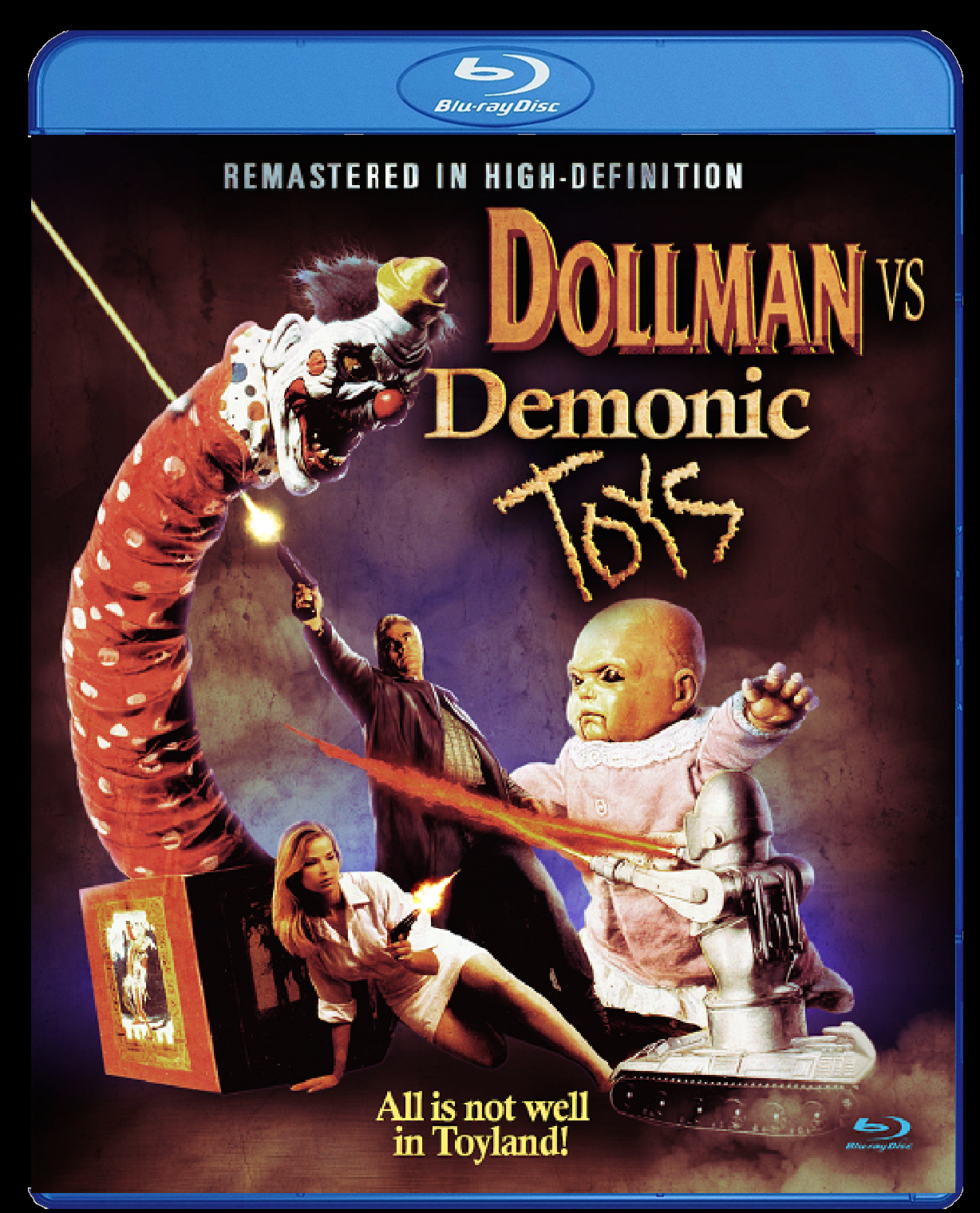 Dollman vs Demonic Toys Blu-ray