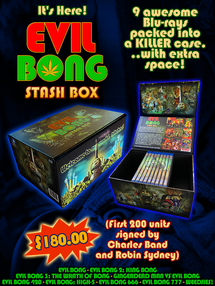 The Evil Bong 9 Blu-ray Stash Box