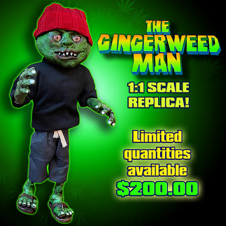 The Gingerweed Man 1:1 Scale Replica