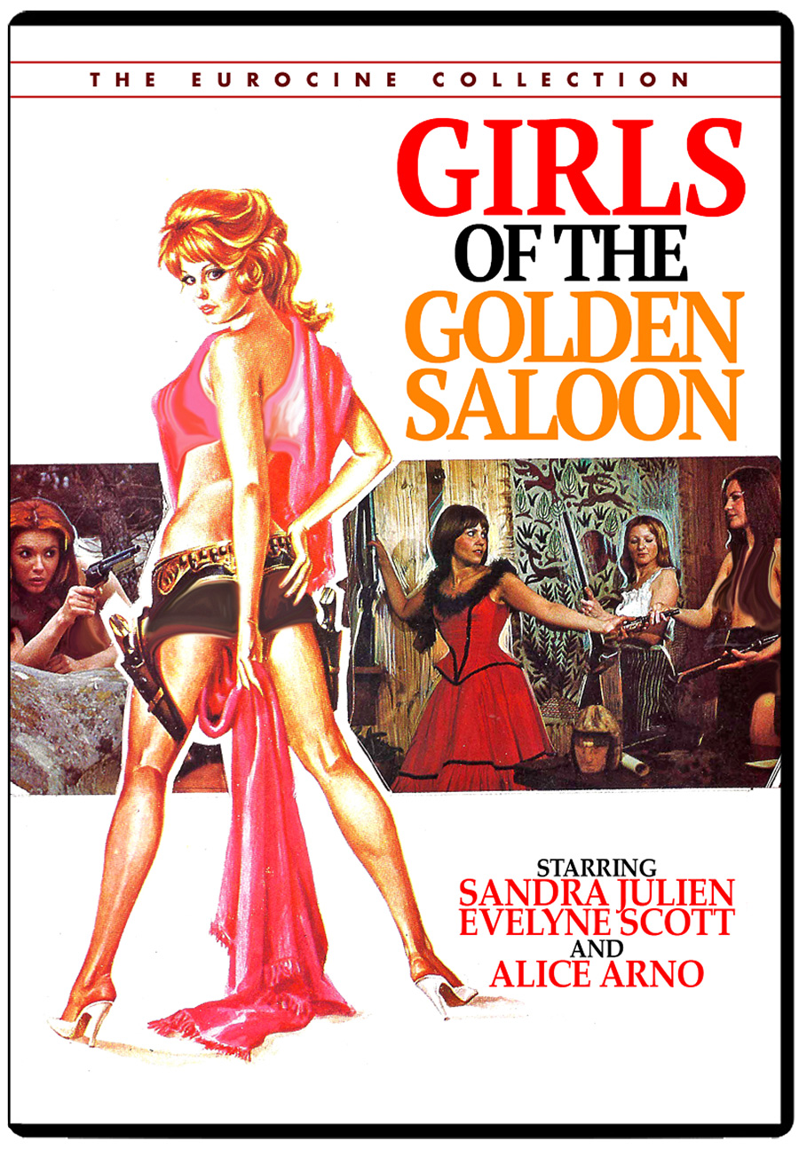 Girls of the Golden Saloon DVD [Remastered]