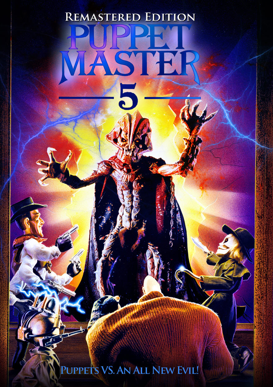 Puppet Master 5  Remastered DVD