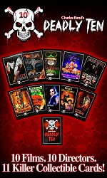 Deadly Ten Collector's Cards