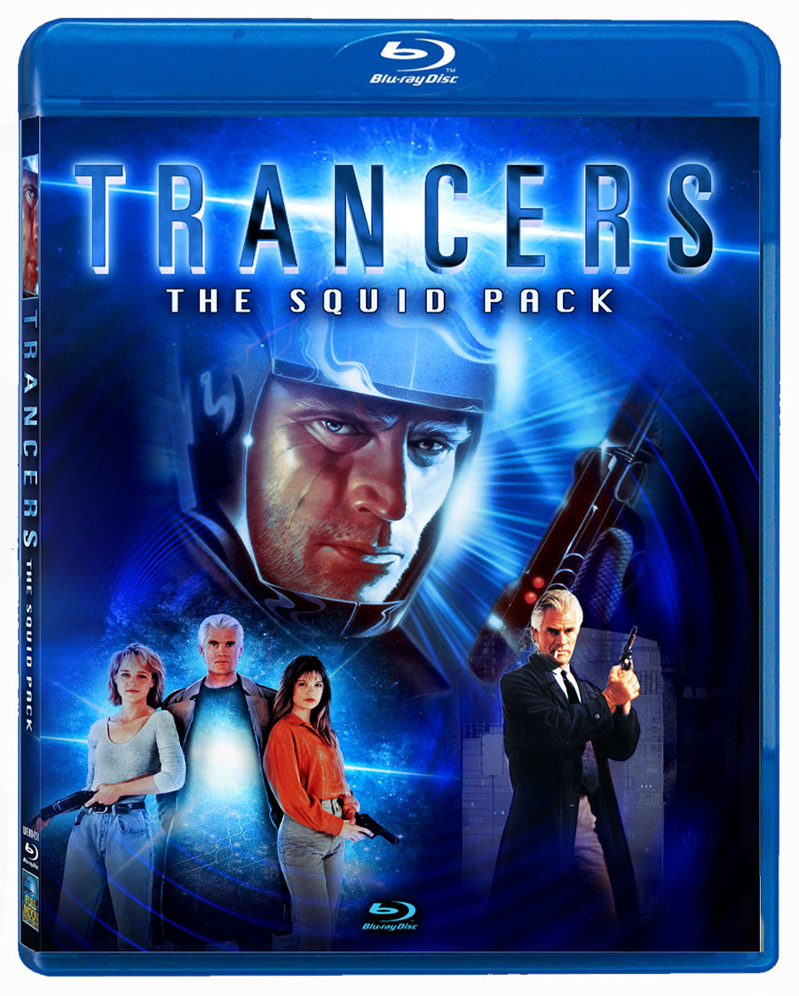 Trancers The Squid Pack 3 Blu-ray Set