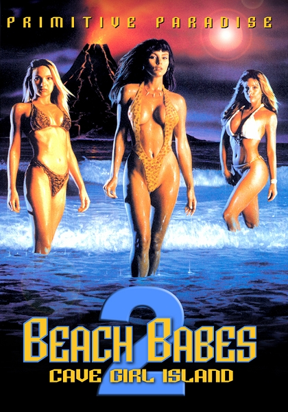 Beach Babes 2: Cave Girl Island DVD