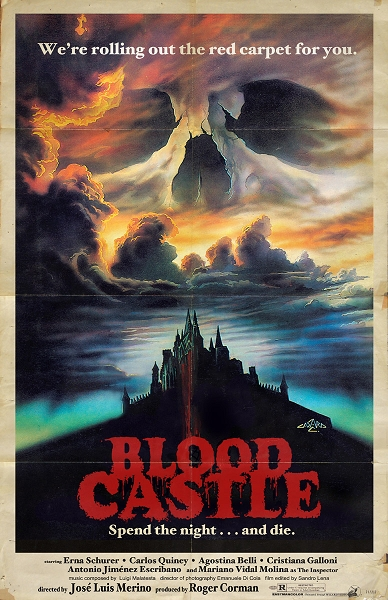 Blood Castle 11x17 Print
