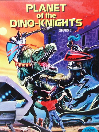 Josh Kirby Time Warrior: Planet of the Dino-Knights Mock up art