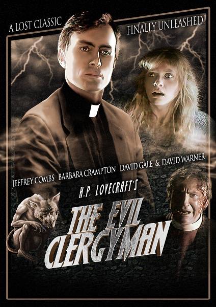 The Evil Clergyman DVD
