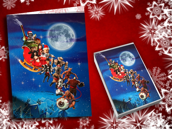 Full Moon Holiday Cards (Set of 20 with envelopes)
