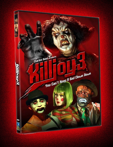 Killjoy 3: Killjoy's Revenge DVD