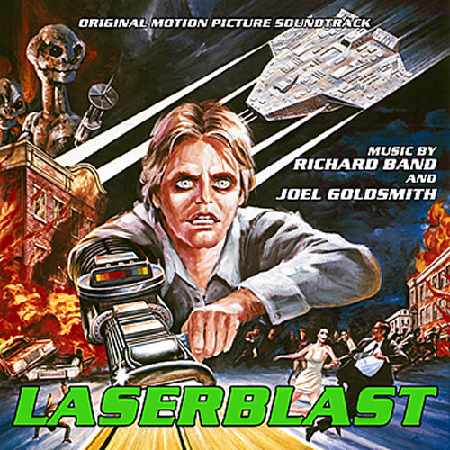 Laserblast Soundtrack CD