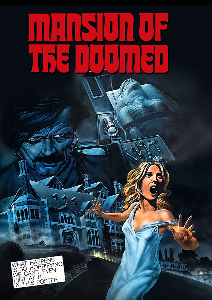 Mansion of the Doomed DVD