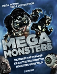 Mega Monsters 3 DVD Slimline Set